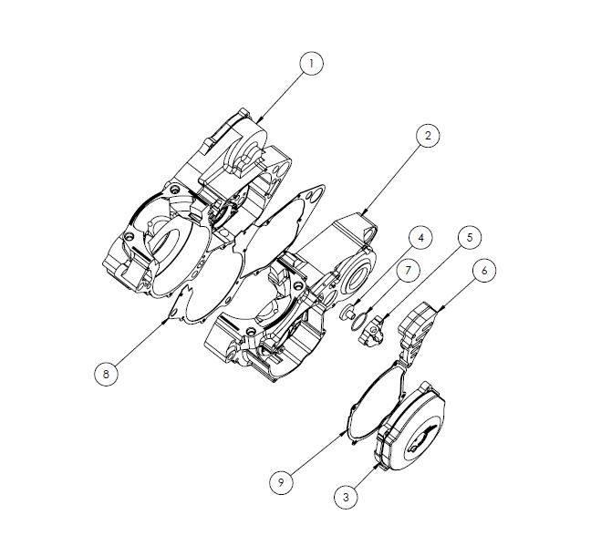HON01 - Panthera CR500 parts list