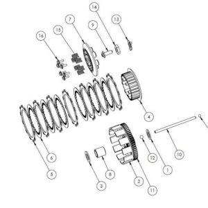 PM07-18 - Clutch assembly