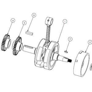 PM07-18 - Crankshaft assembly
