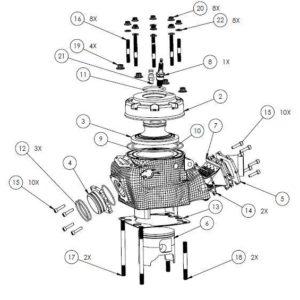 PM07-18 Parts lists