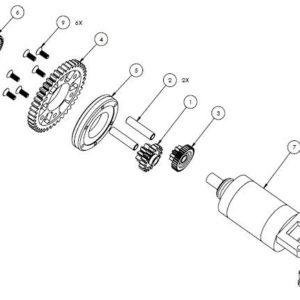 PM07-18 - Starter assembly
