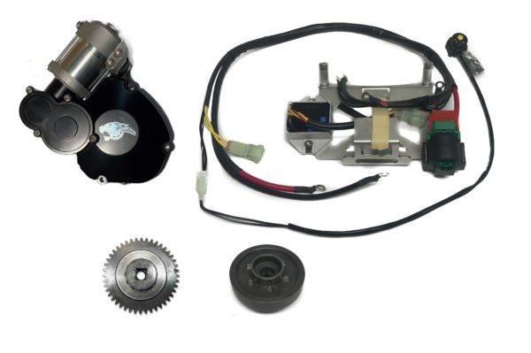 YZ125 electric start assembly 1 scaled