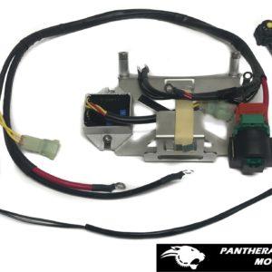 YZ250-YZ250X battery box parts list