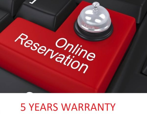 online reservation 5 years